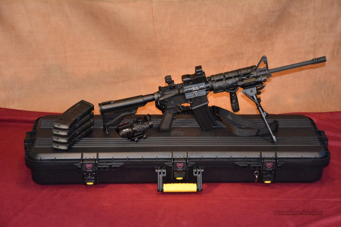 dpms ar 15 superkit many accessories for sale. Black Bedroom Furniture Sets. Home Design Ideas
