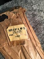 British Fazakerley .303 Enfield Mk2 #4 WWII Factory Wrapped/ Sealed 1954