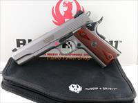 Ruger Model SR1911 .45ACP Stainless Steel with 2 Mags, pouch & box