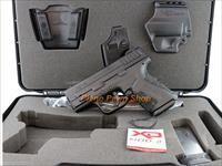 Springfield XD9 MOD2 9MM in case with holster & 2 Mags