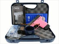 Beretta Nano Pink 9mm in case with 2 Magazines, book