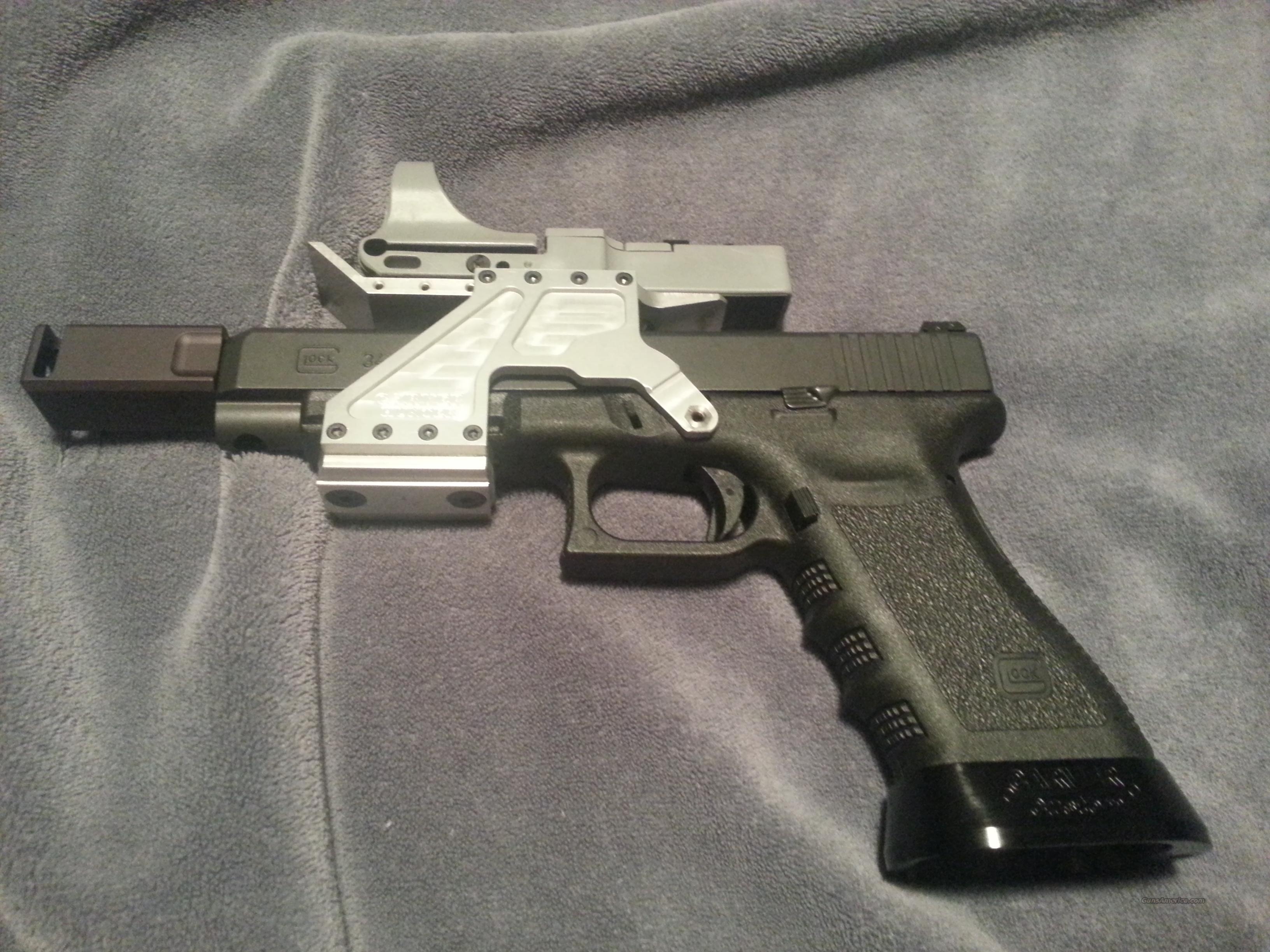 Glock 34 9mm Setup As An Open Race Gun For Sale