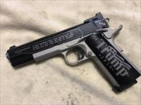 "caspian custom 1911 ""we the people"" 2nd ammendment gun"