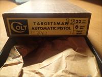 Colt Targetsman 22LR New Unfired in Two :Piece Box 1972