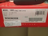 2-Winchester US Repeating Arms Model 1885 Low Wall 2400MFG Consecutive Serial # 1048/49  22lr NIB's or $995 each