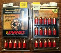 PRICE DROP! 54 cal. ; Barnes Expander MZ w/ sabots, Harvester hard cast lead w/ sabots, Precision QT black powder w/sabots, muzzloading bullets & sabots, plus .50 cal Barnes XPB bullets and Barnes .505 Gibbs bullets
