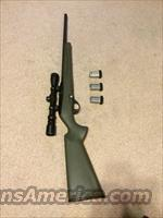 Remington 597 22lr semi auto rifle with scope