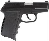 "SCCY Industries CPX2CB CPX-2 Double 9mm 3.1"" 10+1 Black Polymer Grip/Frame Grip Black Nitride Stainless Steel"