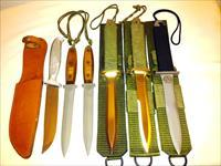 EK. Knife Co. Collection. All War commeritve knifes .