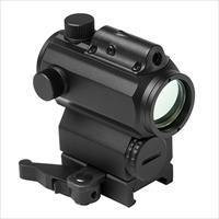 "1.7"" Electronic High  Red/Blue Dot Optic w/ Green laser."