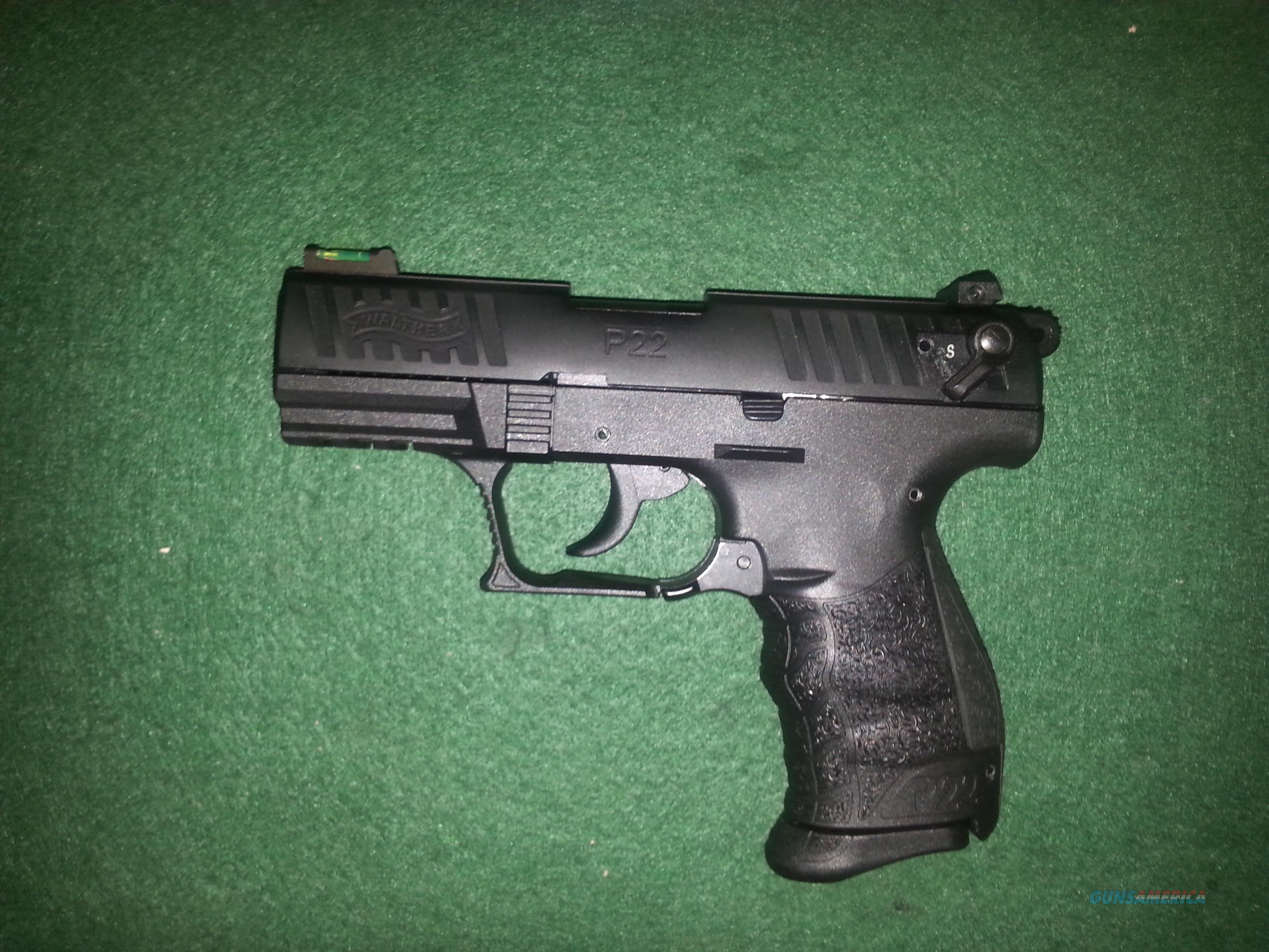 Walther P22  22lr tactical