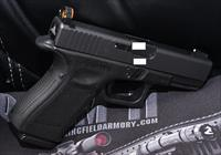 GLOCK 23 WITH 357 SIG BARREL INSTALLED AND GHOST SIGHTS