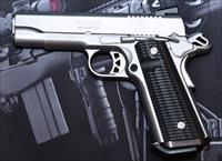 RUGER SR1911 WITH CUSTOM GRIPS NIGHT SIGHTS AND HOLSTER