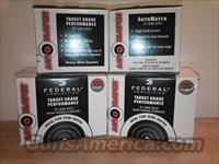 AMMO: 22lr  22   FEDERAL AUTO MATCH  1,300rds - (4)325rd BOXES