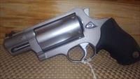 "TAURUS JUDGE PUBLIC DEFENDER ALL STAINLESS 2""BL/2.5"" CYLINDER .45LC/410GA , FREE SHIPPING NO CC FEE"