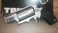 "TAURUS JUDGE PUBLIC DEFENDER ALL STAINLESS 2""BL .45LC/410GA , FREE SHIPPING NO CC FEE"