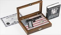 SPRINGFIELD ARMORY LEGEND CHRIS KYLE TRP OPERATOR 45ACP 1 OF 1000 CUSTOM 1911 45 ACP NAVY SEAL SNIPER W/ GLASS CASE BOOK & ACCESORIES