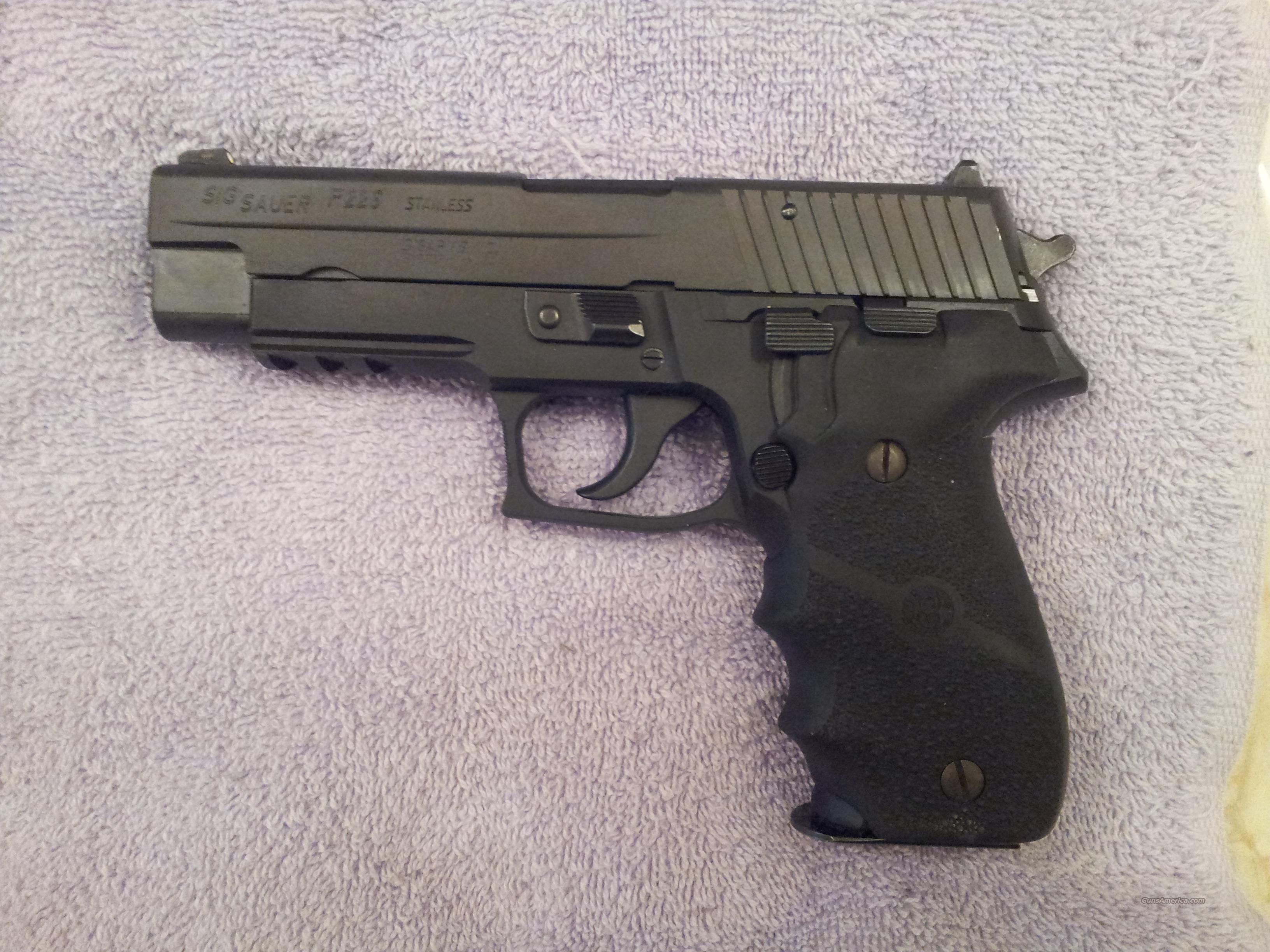 sig p226 40 caliber w new 357 conversion barre for sale