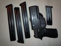 Sig Sauer P320c X-series 9mm Nitron 2-15rnd Mags, 3-32 round mags