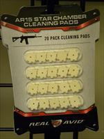 Real Avid AR15 Star Chamber cleaning patches