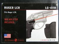 Crimson Trace Ruger LCR w/ IWB Holster