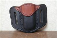 1791 Leather Two-Tone Holster For Double Stack Magazines
