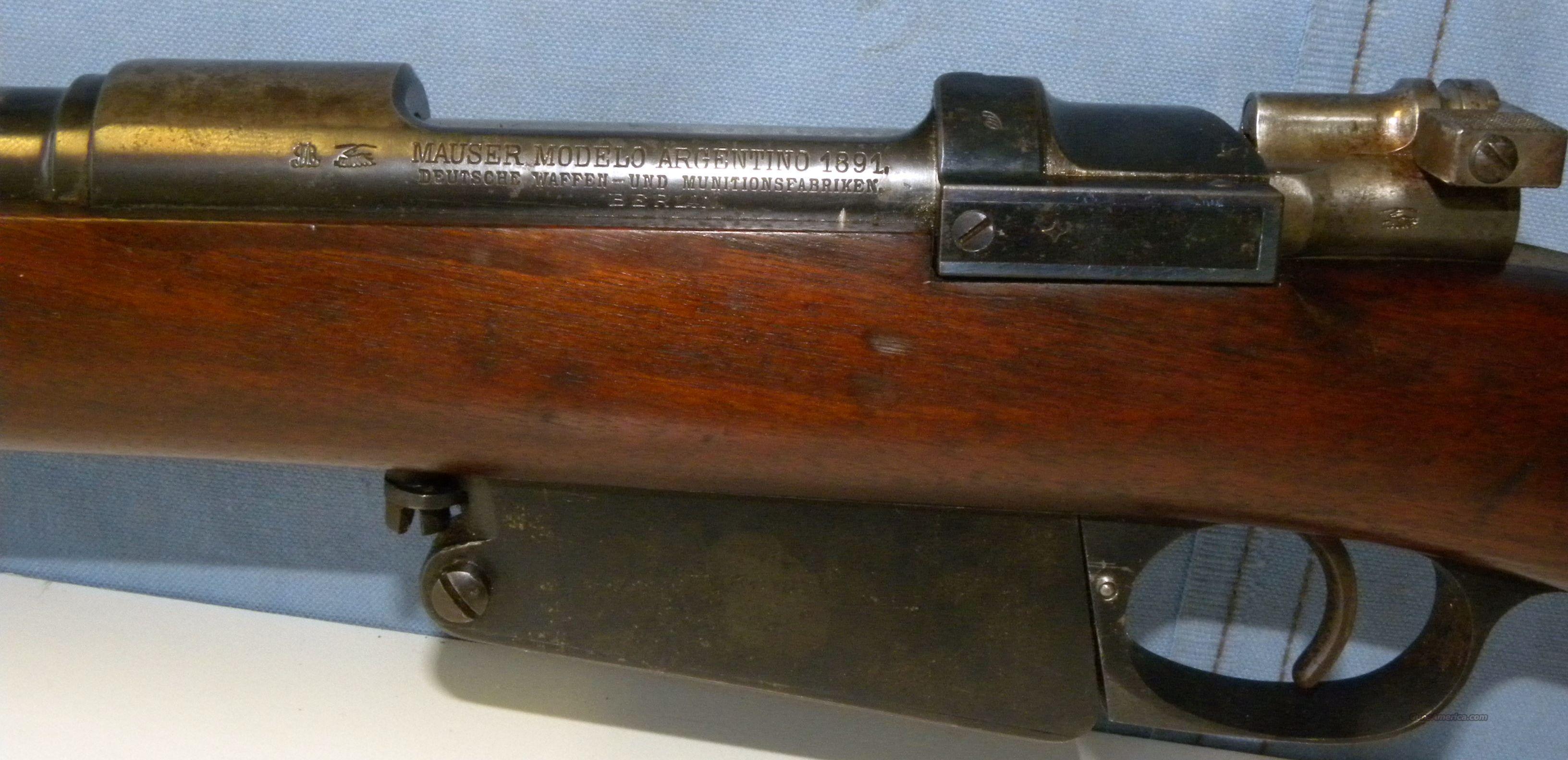 1891 Carbine Mauser DWM