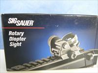 Sig Sauer Rotary Diopter Rear Sight