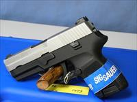 Sig Sauer 250 9mm Two Tone Sub Compact