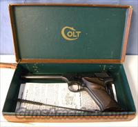 Colt Woodsman Target Model w/ Box