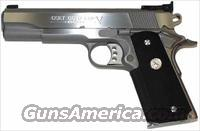 Colt Gold Cup Trophy Stainless 1911 45 ACP 5""