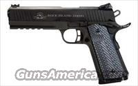 Rock Island Armory 1911 2011 45ACP 4.25 With Rail VZ Grips