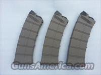 LOT of 3 Saiga 12 10 Round Magazine AGP DARK EARTH GEN3