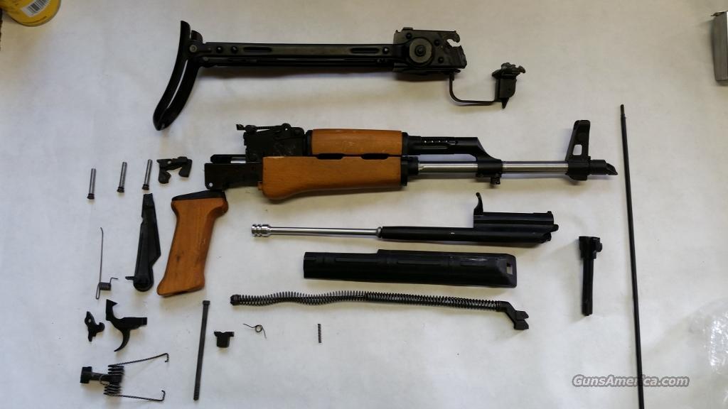 Hungarian AK 47 U/Folder W/Assembled Barrel AK47