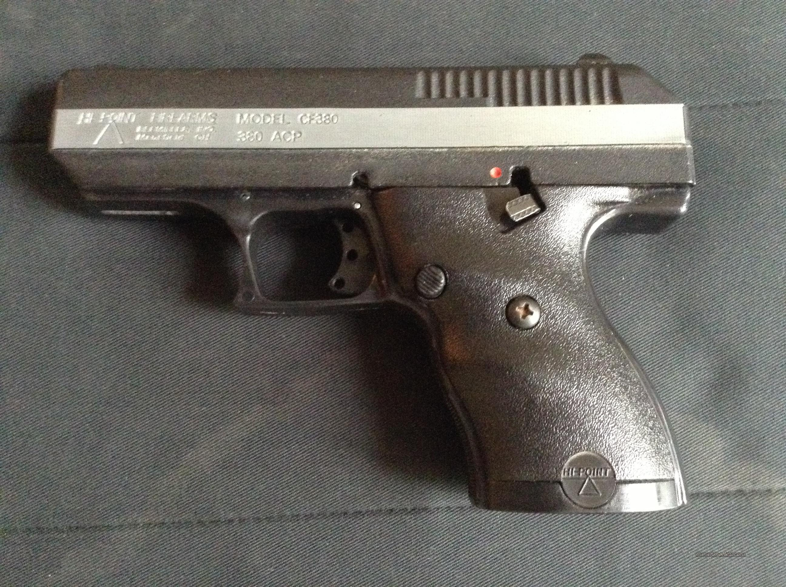 HIGH POINT AUTO 380 WITH 4 CLIPS