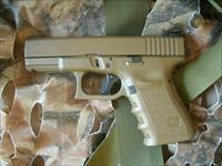 FDE Glock 19 with night sights