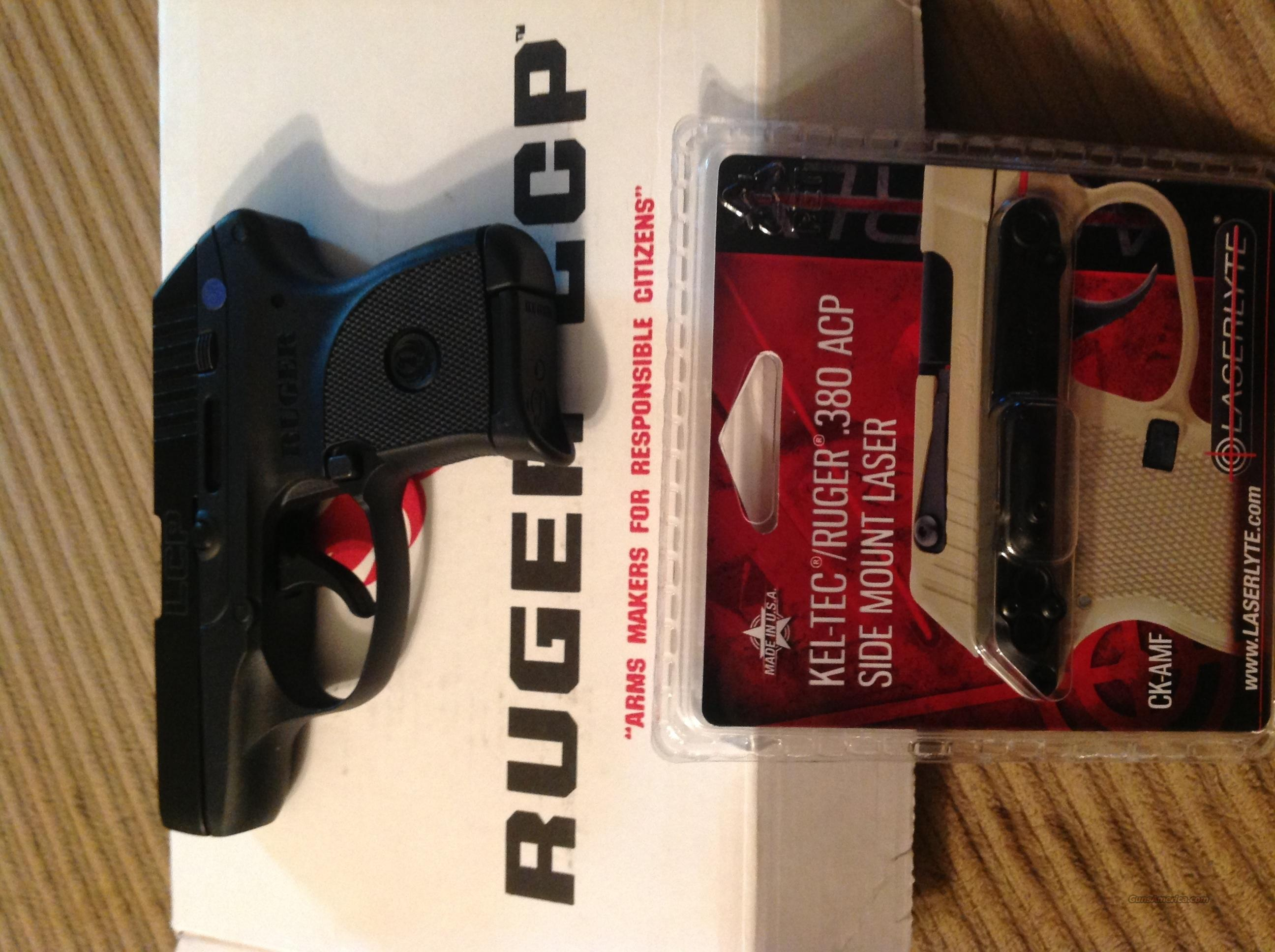 Ruger LCP  380 with LaserLyte laser