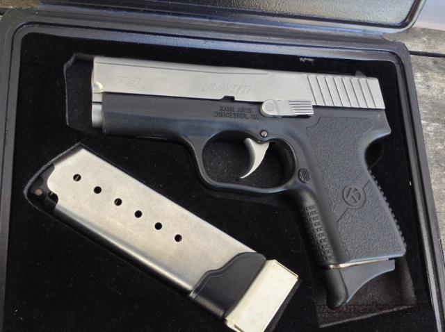 Kahr P9 9mm RARE COVERT MODEL! NOT K9 CW9!