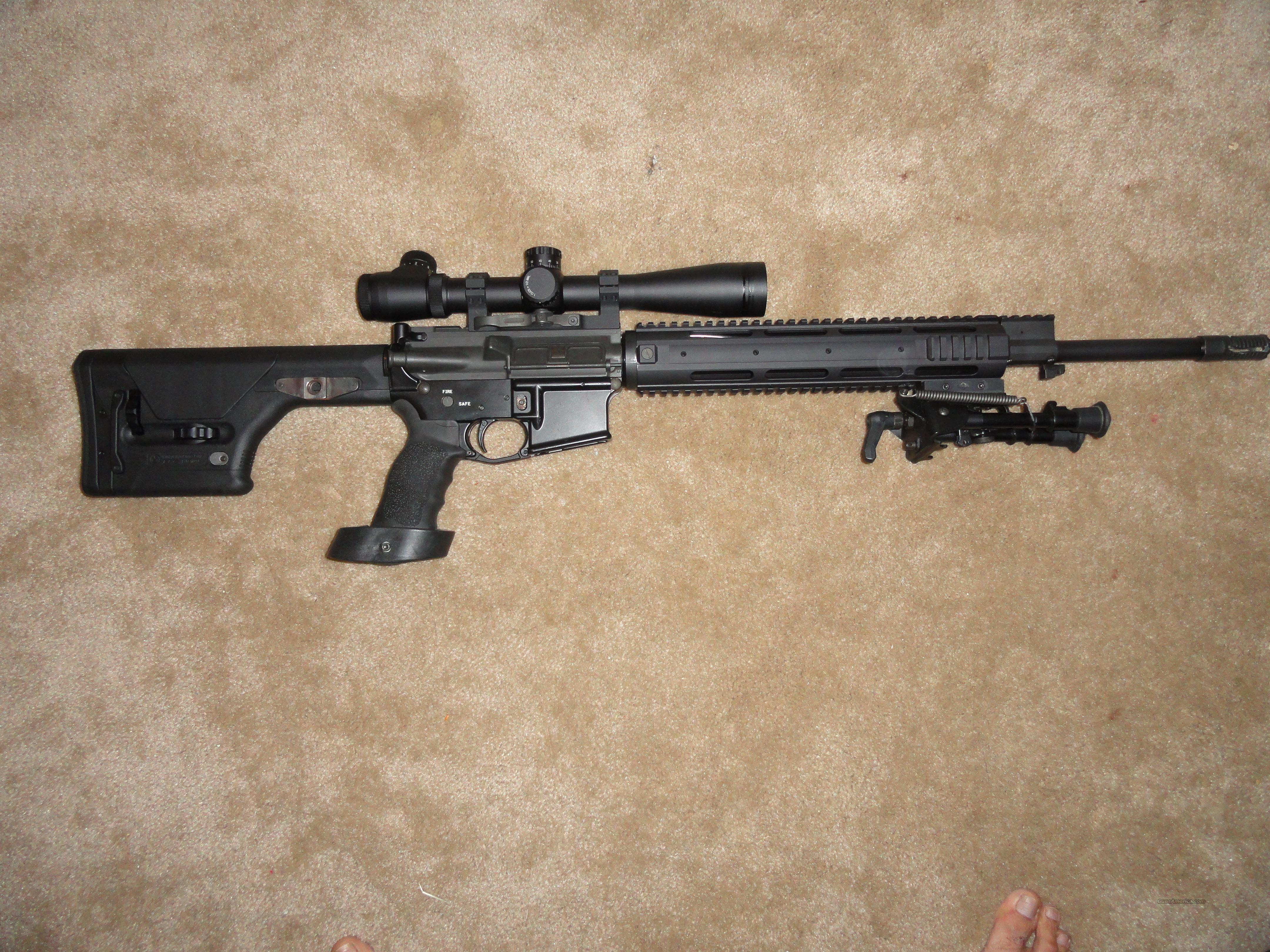 Limited time, 100% Custom AR15 Sniper Rifle w/L... for sale