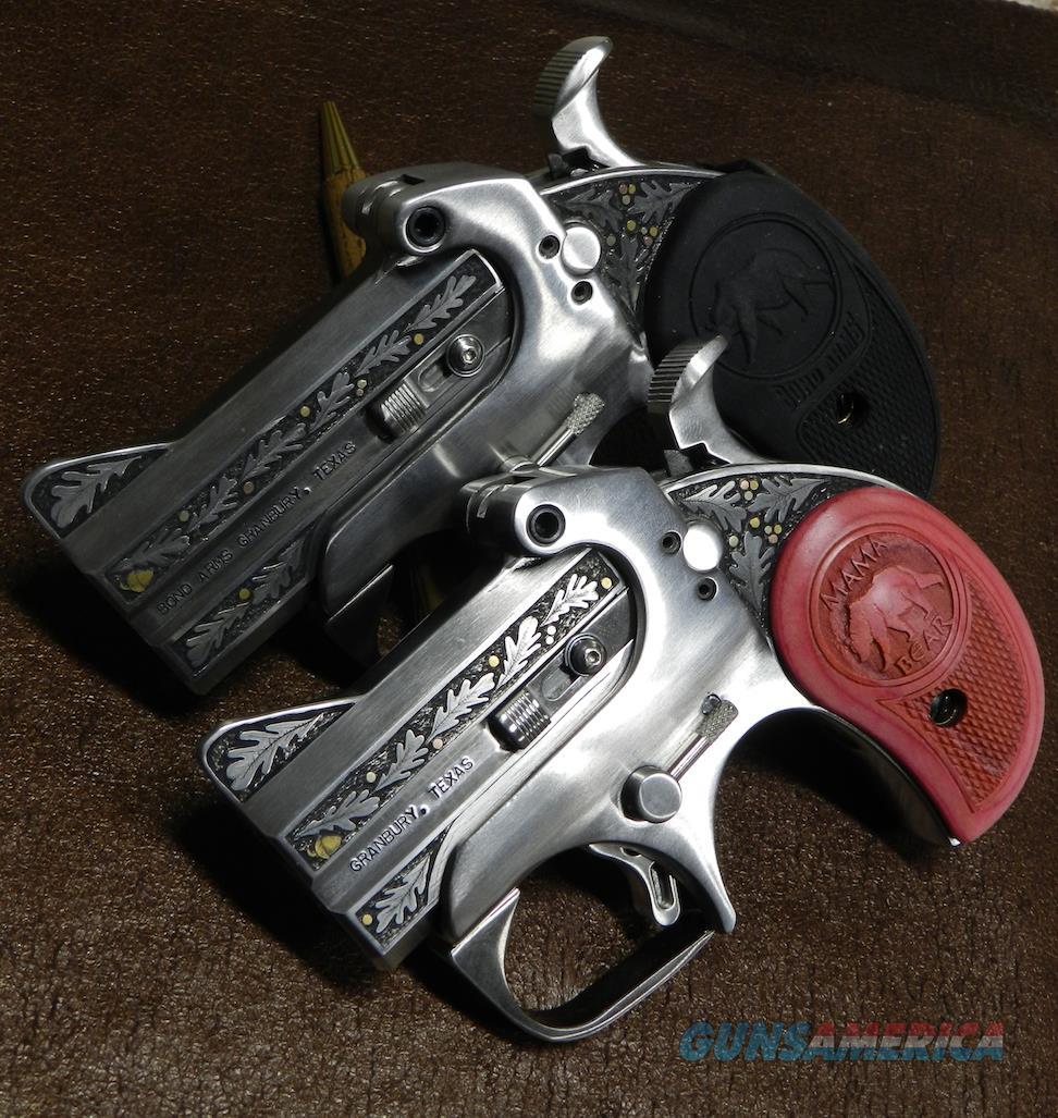 reduced hand engraved bond arms derringer for sale