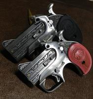 !! REDUCED !! Hand Engraved Bond Arms Derringers - His & Hers set 45Colt - 357Mag/38Secial