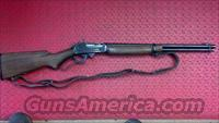 Marlin 336RC with Redfield aperture sight