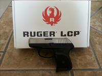 Ruger LCP 380 ACP With Stainless Steel Slide