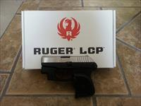 Ruger LCP 380 Stainless with Crimson Trace Laser and Techna Clip Holster Clip