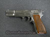 BROWNING HI POWER - NICKEL - BELGIUM