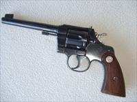 Colt Revolver .22LR Officers Model Target, 3rd Issue