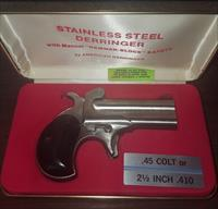 American Derringer 410/.45LC Stainless