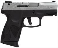 Taurus PT111 Millennium Pro Stainless/Black 9mm 3.25""