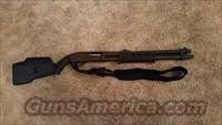 Remington 870 Magnum early police model Magpul stock and forend