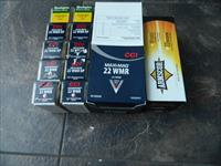 CCI ,ARMSCOR,REMINGTON,22 MAGNUM AMMO.1500 ROUNDS NEW STOCK 40 JHP JACKETED HOOLOW POINT.THE GOOD STUFF FOR VARMINTS